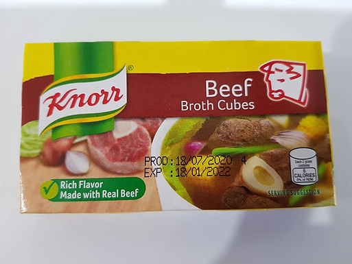 Knorr Cubes Beef Flavour 60g
