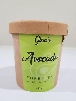 Gian's Sorbetes Avocado Flavour 450mL
