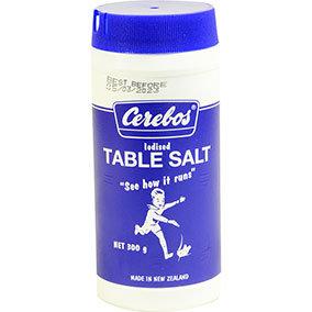 Cerebos Iodised Table Salt 300g
