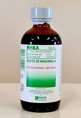 Rhea Aceite de Manzanilla 120ml