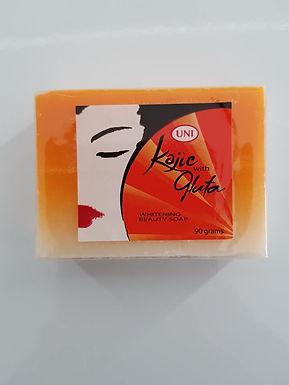 Uni Kojic Whitening Soap with Glutathione 90g