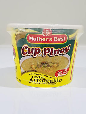 Mother's Best Cup Pinoy Chicken Arrozcaldo 40g