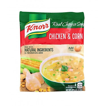 Knorr Chicken and Corn Soup 60g