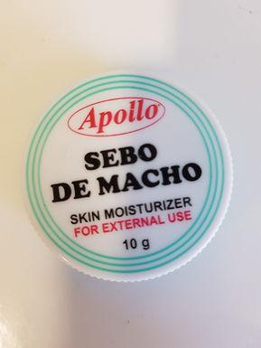 Apollo Sebo De Macho Cream 10g