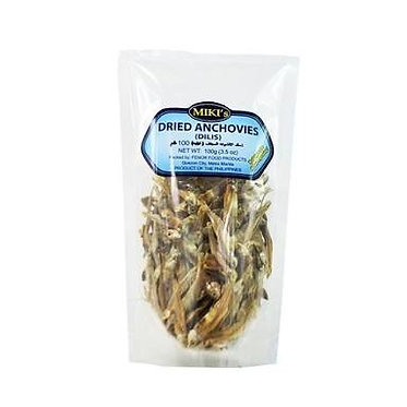 Miki Dried Anchovies - Dilis 100g
