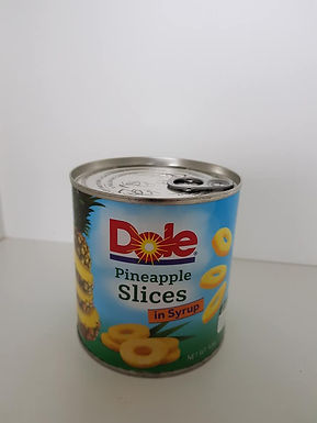 Dole Pineapple Slices in Syrup 439g