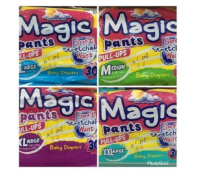 Magic Pants XXL Nappy