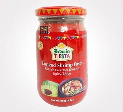 Barrio Fiesta Shrimp Paste Hot & Spicy 250g
