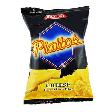 J&J Piattos Potato Chips - Cheese 85g