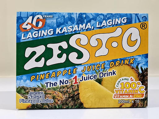 Zesto Pineapple Juice Drink (10x200mL)