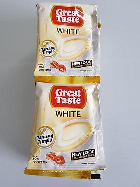 Great Taste 3-1 White Coffee (10 x 30g pack)
