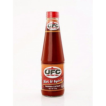 UFC Banana Catsup - Hot 320g