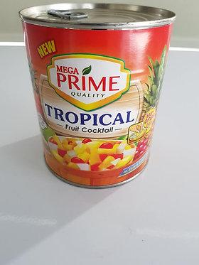 MEGA PRIME Tropical Fruit Cocktail 822g