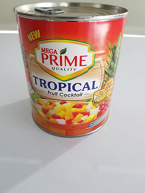 MEGA PRIME Tropical Fruit Cocktail 822g