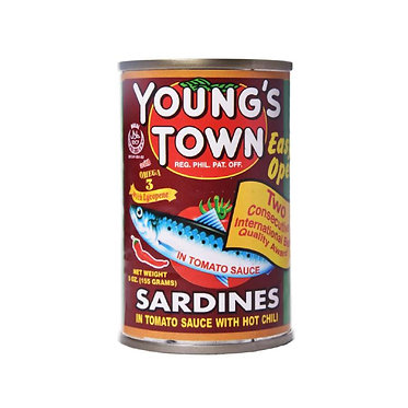Youngstown Sardine Hot 155g