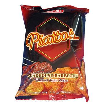 J&J Piattos Potato Chips - Roadhouse BBQ 85g