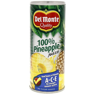 Del Monte Pineapple Juice With Ace 240mL