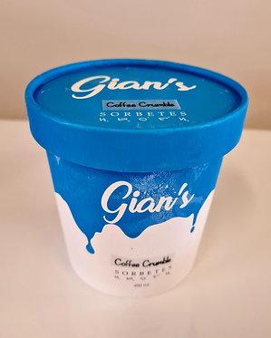 Gian's Sorbetes Coffee Crumble Flavour 450mL