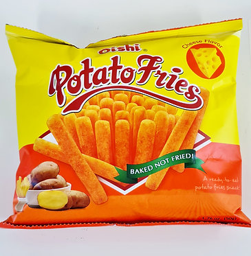 Oishi Potato Fries Cheese Flavor 50g