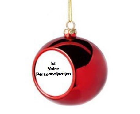 Boules de Noël Personnalisables