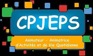 logo CPJEPS animateur activités vie quotidienne