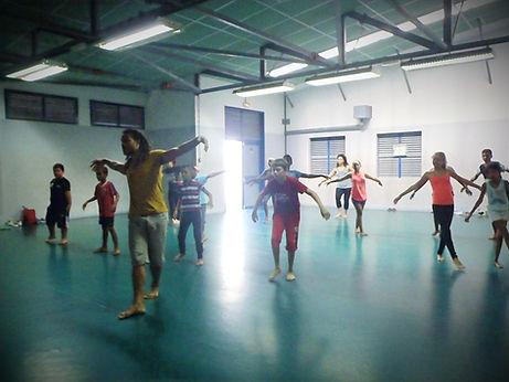 formation gym danse groupe enfants