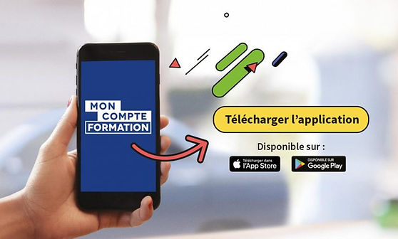 application mon compte formation cpf