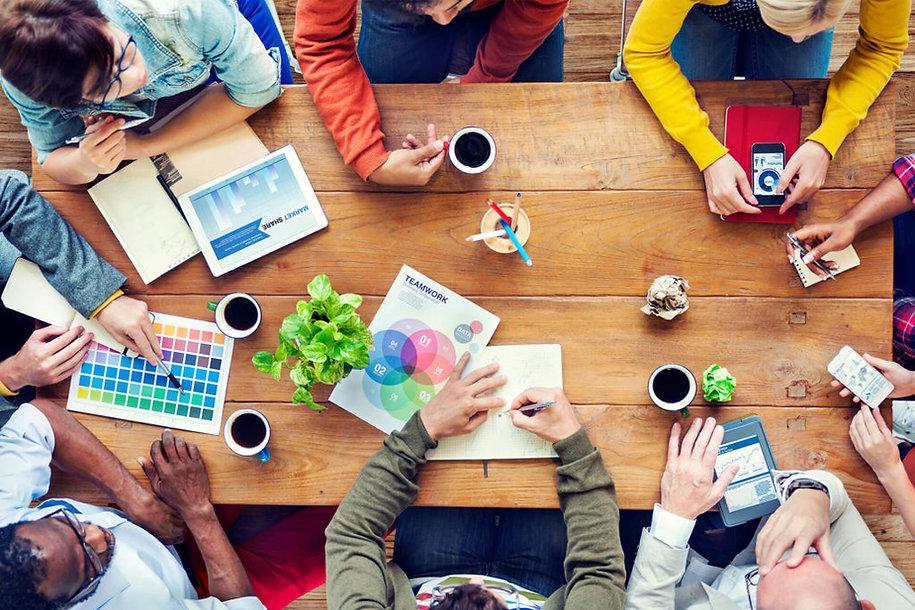 brainstorming teamwork association