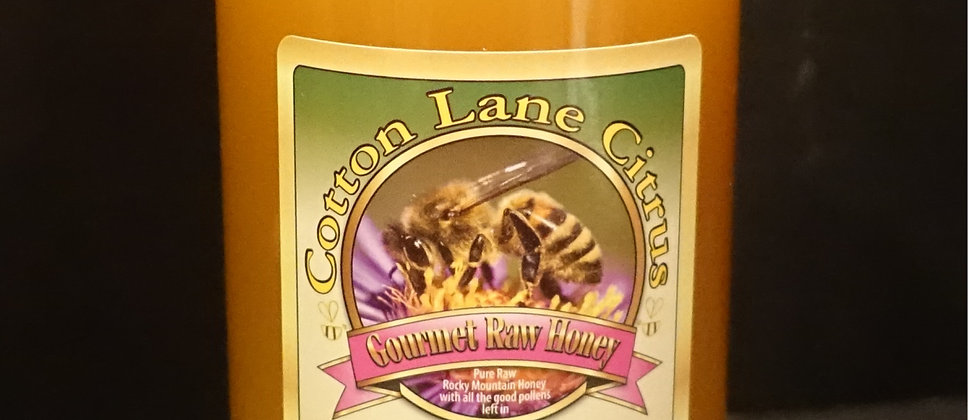 Cotton Lane Citrus 100% Pure Raw Honey 2lb