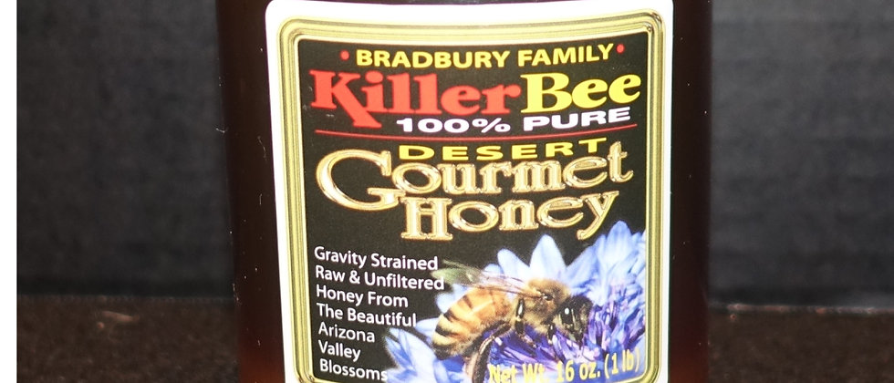 Killer Bee 100% Pure Raw Honey 1lb