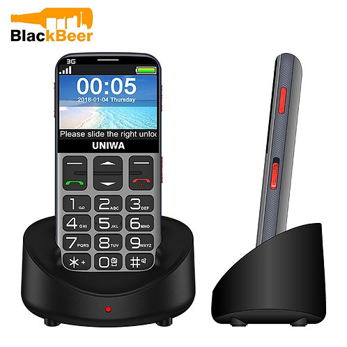2.31 Inch Mobile Phone 3G  Senior Old Man SOS  Russian 2G Cell Phone