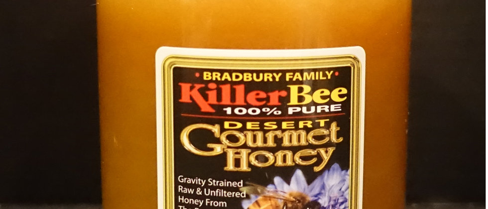 Killer Bee 100% Pure Raw Honey 3lb