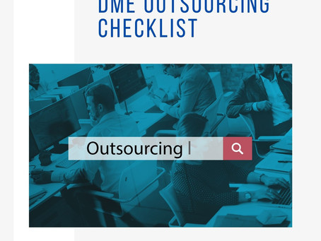 DME Outsourcing Checklist
