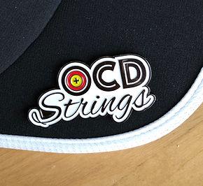 OCD Strings Pin