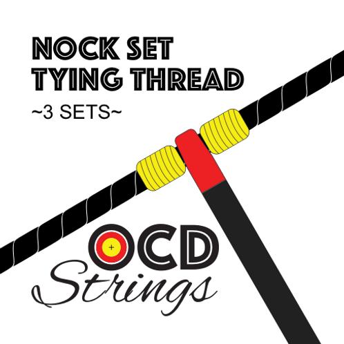 Nock Set Tying Thread