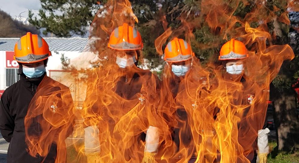 JSP flames