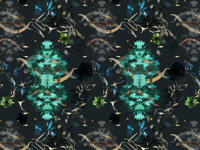Emerald Lichen Print