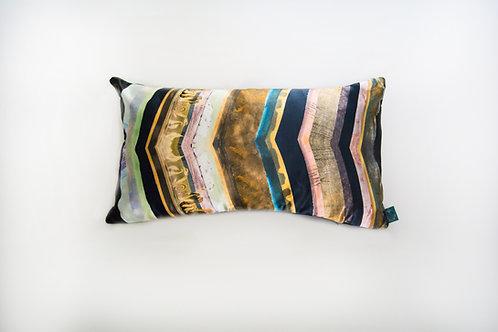 Teal Stratum Cushion