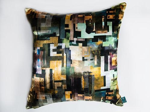 Metallic Kelpies Cushion