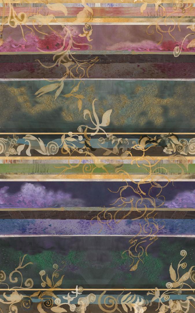 Filigree Panel Print