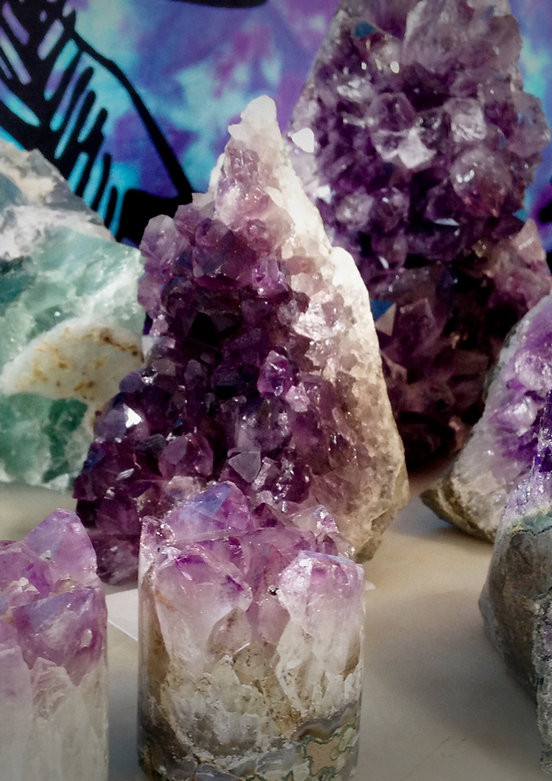 Amethyst is a stone of spirituality. It balances the mind, body, spirt.