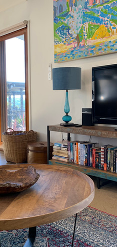 Flat screen TV with Crome Cast