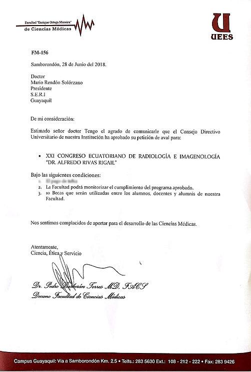 Aval Académico UEES