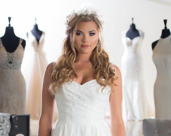 Dress: The Wedding Shoppe/ Photo: Jeff White