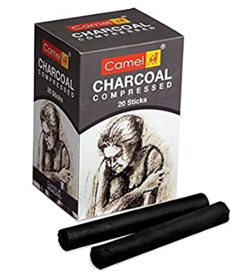 Camel Compressed Charcoal Sticks One Piece