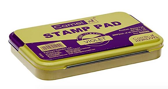 Camlin Stamp Pad-violet