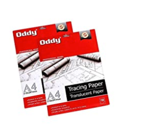 ODDY Tracing Paper A4, 100sheets, 1pkt