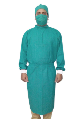 Cloth surgical gown
