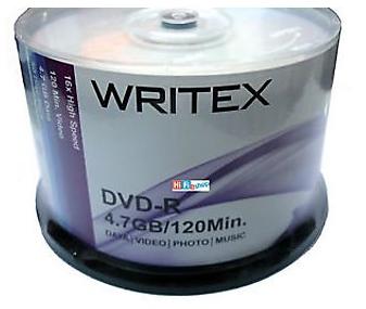 WRITEX DVD Recordable, 1pc