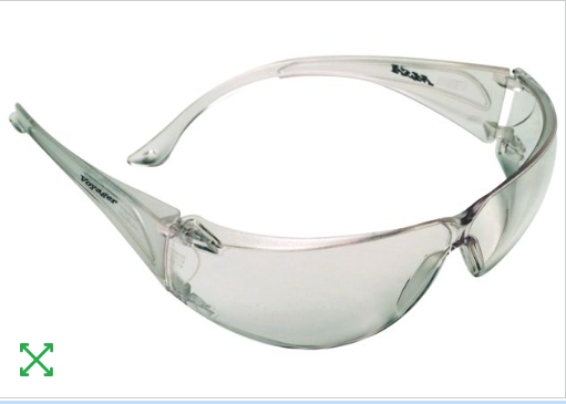 MSA Discovery II Clear Lens
